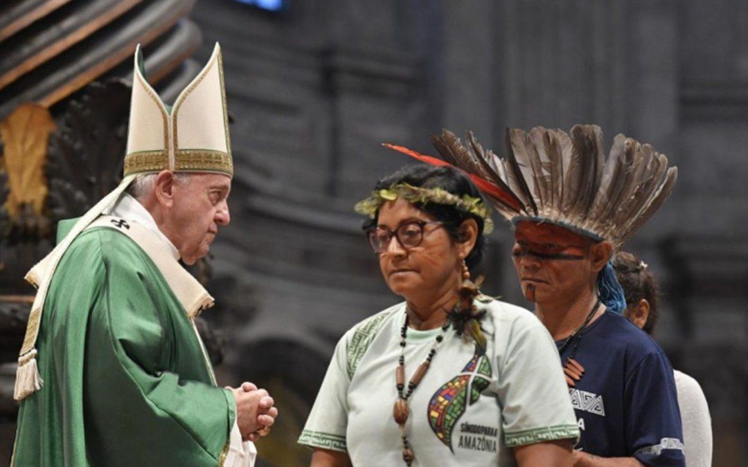 Sínode de l'Amazònia: petroli, armes i el papa Francesc