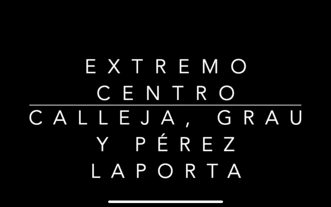 Diálogo en Extremo Centro con Pedro Herrero, Carlos Pérez, Ricardo Calleja y Paris Grau